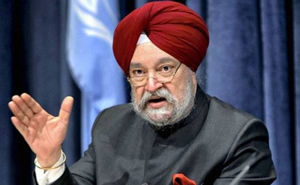 Hardeep Puri bids farewell to foreign service