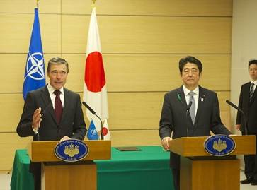 Japan signs agreement with NATO to deepen ties