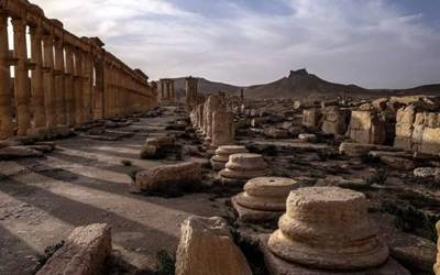 New mass grave found in Syria's Palmyra