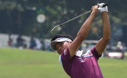 Thai golfer Danthai on top at Take Solutions Masters