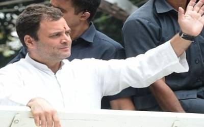Modi now questioning Patel's vision: Rahul