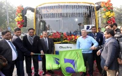 Delhi launches electric bus between Anand Vihar and Mehrauli