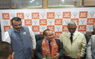 Jolt for Congress in Mizoram, Speaker quit party, joins BJP