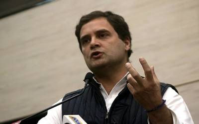 Note ban a conspiracy, money laundering scheme: Rahul