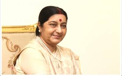 Sushma draws Mahabharata analogy over Azam Khan remark