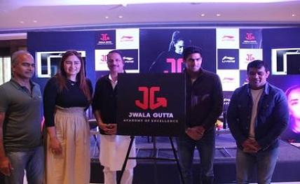 Olympic stars come together to launch Jwala Gutta's academy
