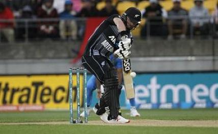 3rd T20I: New Zealand post mammoth total vs India