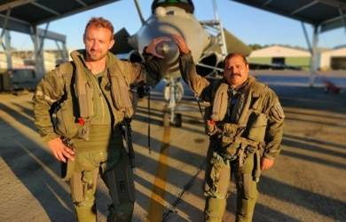 IAF vice chief flies in Rafale during Indo-French drill