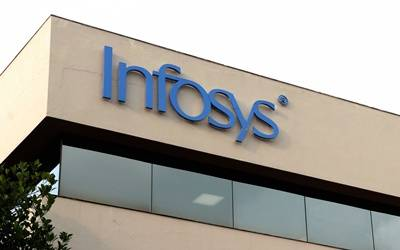 Infosys net up 5.1% yearly, down 6.8% quarterly