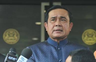Coup leader Prayuth Chan-ocha takes office as Thai PM