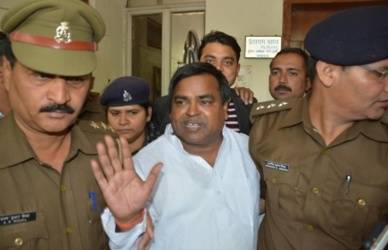 Illegal mining case: Gayatri Prajapati's house among 22 places raided in UP (Lead)