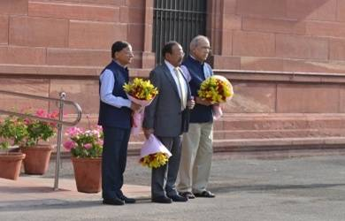 Nripendra Misra, P.K. Mishra granted extensions, promoted to Cabinet rank (Lead)