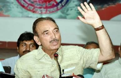 No BJP, NDA government after polls: Azad