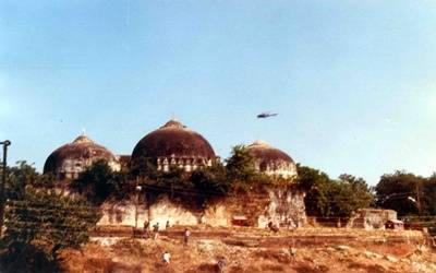 Babri Masjid not constructed on vacant land: SC