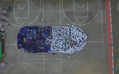Biggest 'human capsule' in Indore sets new world record