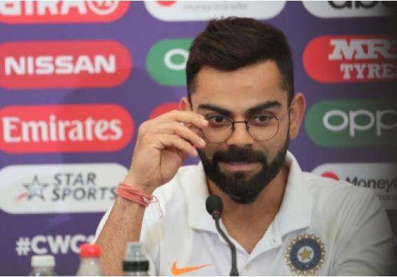 Kohli shares inspirational message with fans on social media