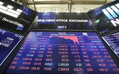 US stocks end mixed amid solid earnings, lacklustre CPI data