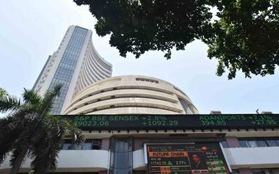 Sensex, Nifty end flat; Wipro ends 3.50% lower (Lead)