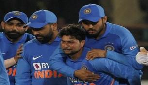 Kuldeep fastest Indian spinner to get to 100 ODI wickets