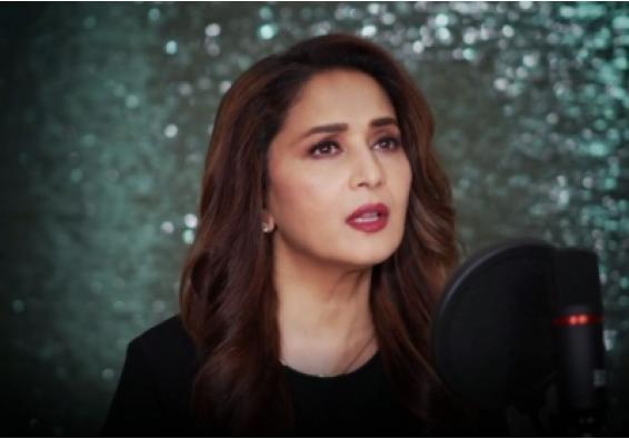 Lockdown diaries: Madhuri experiments with husband's hairstyle