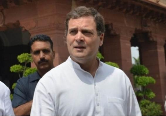 Your leadership in question, Rahul's poetic response to PM's address (Ld)