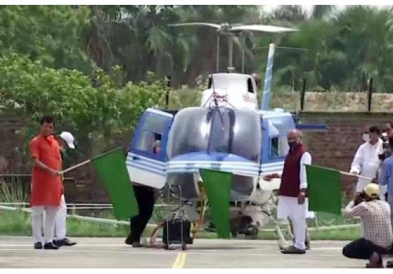 Agriculture Minister Tomar flags off chopper for locust control ops