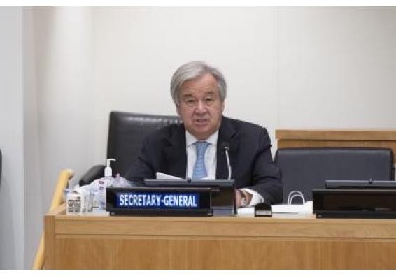 Guterres urges solidarity for people living in poverty