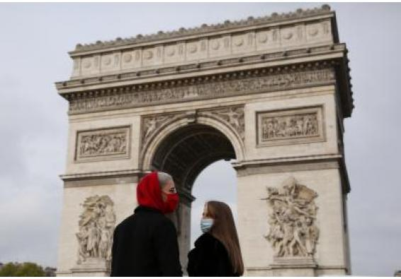 France reports new record high single-day Covid-19 cases